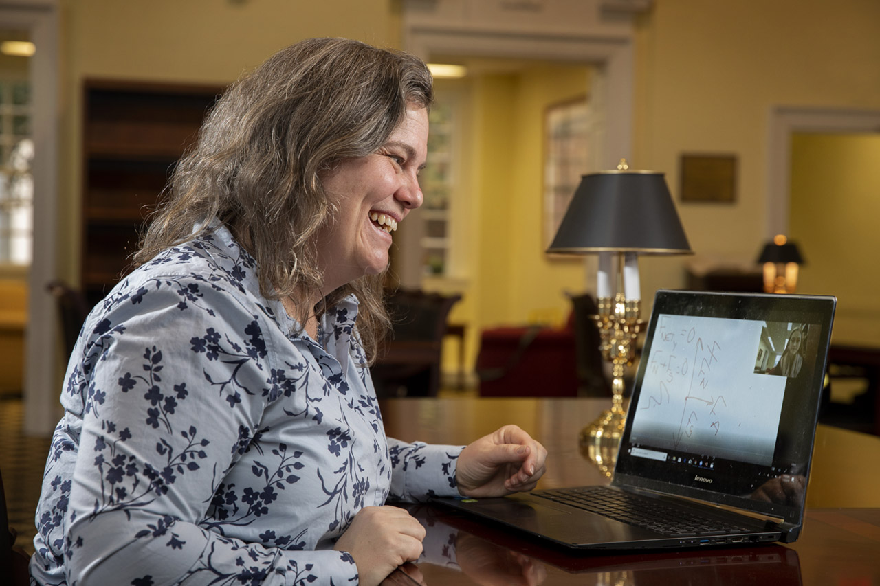 Take affordable online classes with top-ranked faculty from Randolph College.
