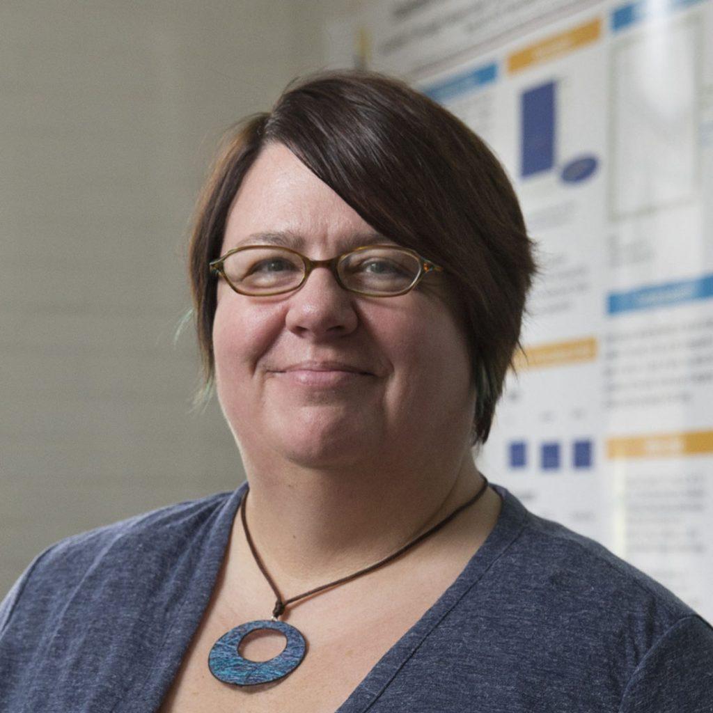 Katrin Schenk, associate professor of physics at Randolph College